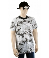 T-shirt urban camouflage print